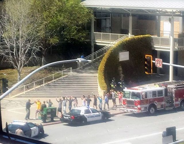 Five people are being treated after a shooting at YouTube's headquarters