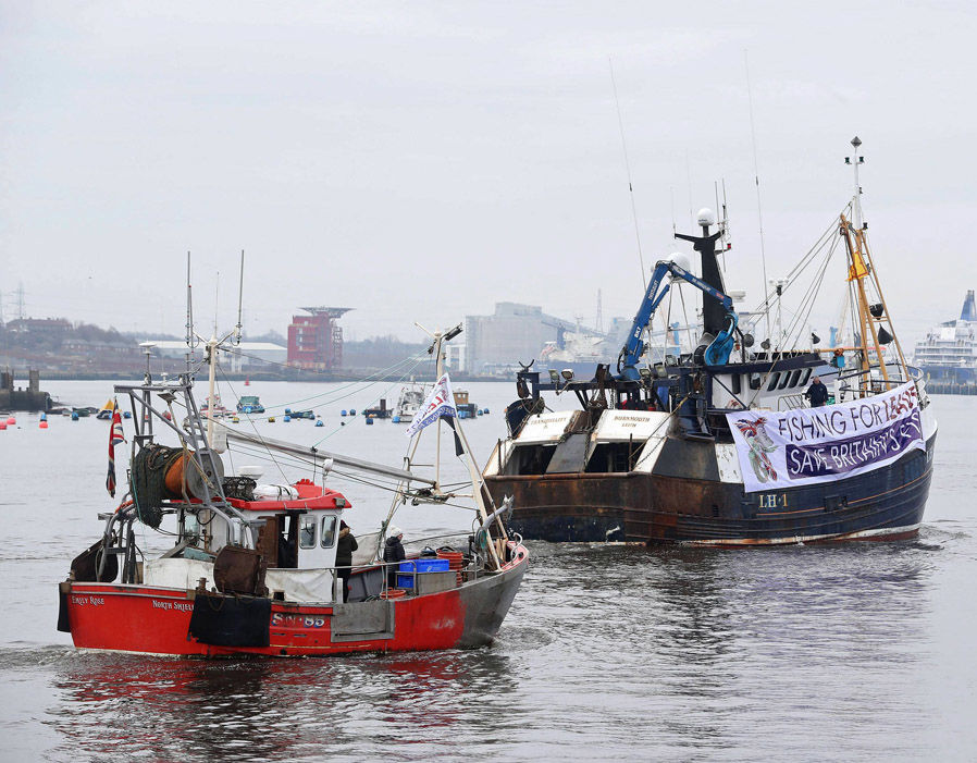 UK fishermen fear the EU will impose laws that shrink British fishing fleets   Brexit LIVE: May prepares for Commons showdown with Tory rebels   Politics   News 357617