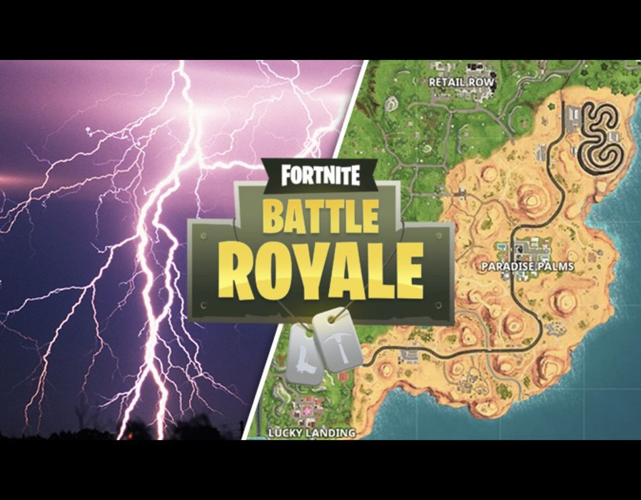 Fortnite lightning bolts week 1 challenge   Search floating bolts     FORTNITE Season 5  week 1 challenges are live  Here s where to find the  floating lightning bolts
