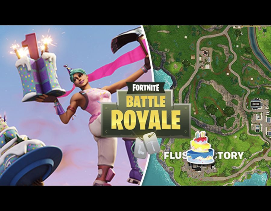 Fortnite Clay Pigeons Birthday Cakes Flush Factory