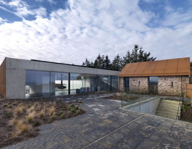 Stormy Castle, contemporary house in Gower, Wales