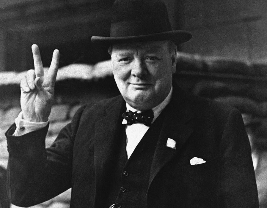 Image result for photo of winston churchill