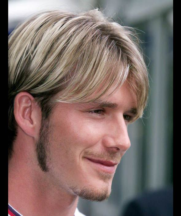 David Beckham Blonde 24 Reasons Why We Love S Hair