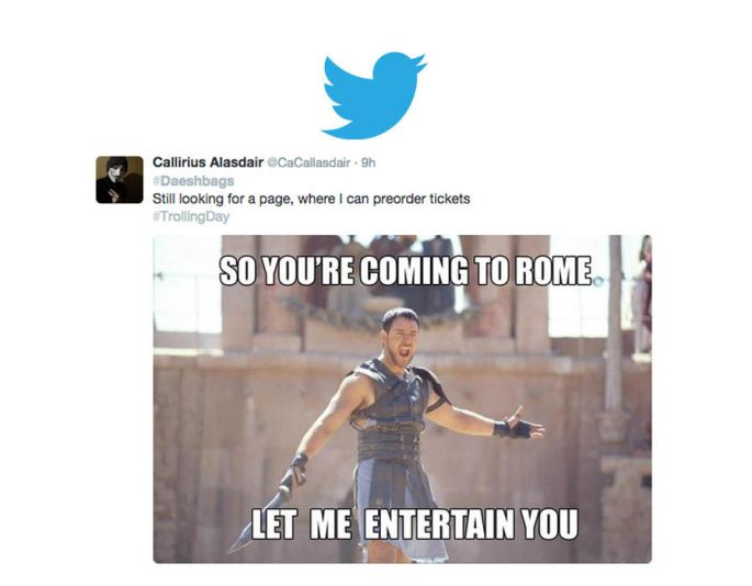 Anonymous trolls ISIS on Twitter with memes