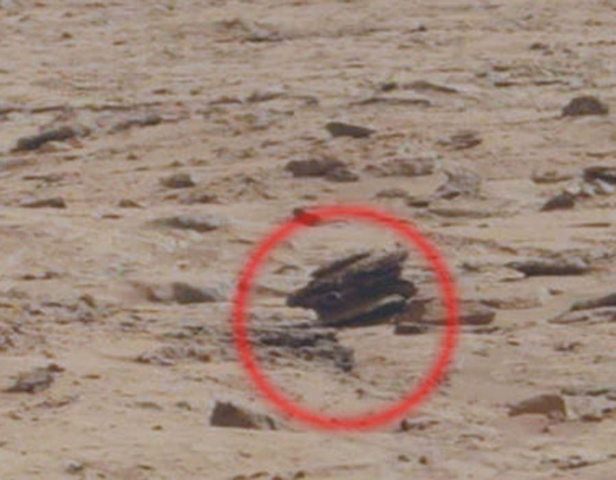 Weird findings on Mars