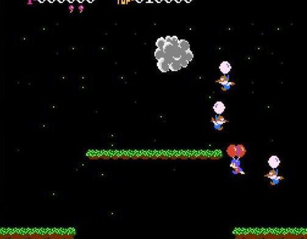 Balloon Fight on the NES