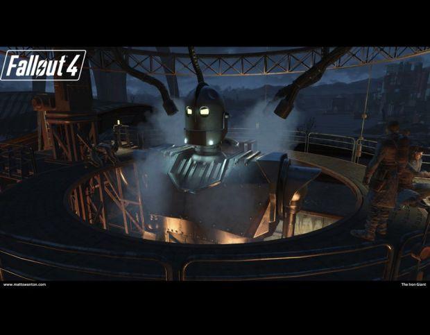 Fallout 4 Iron Giant mod