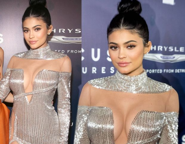 Kylie Jenner at the Golden Globes afterparty