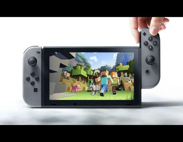 Minecraft Nintendo Switch screenshots