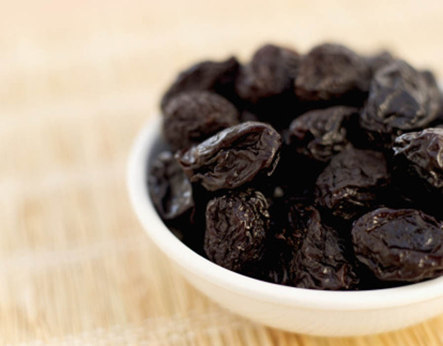 Bowl of prunes