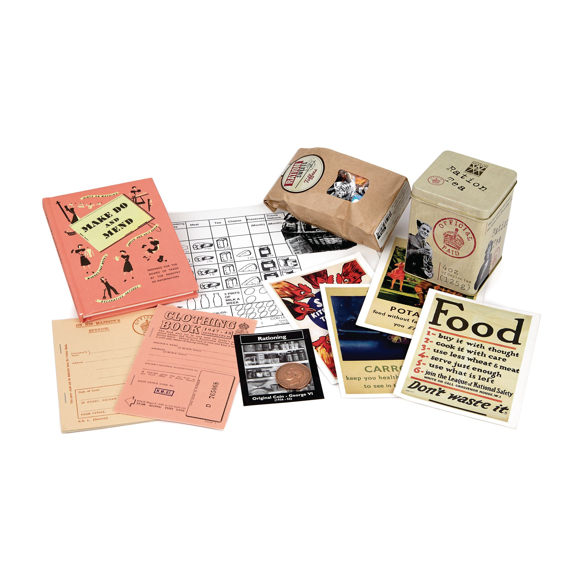 Ww2 Rationing Remembered Pack
