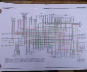 CB500X Wiring Diagram  can anyone help?  Lighting