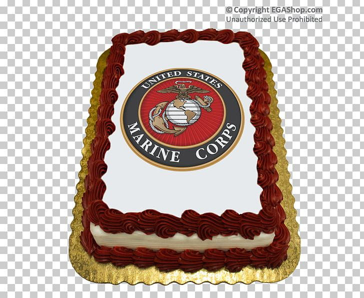 Cake Decorating United States Marine Corps Birthday Cake Png Clipart Free Png Download