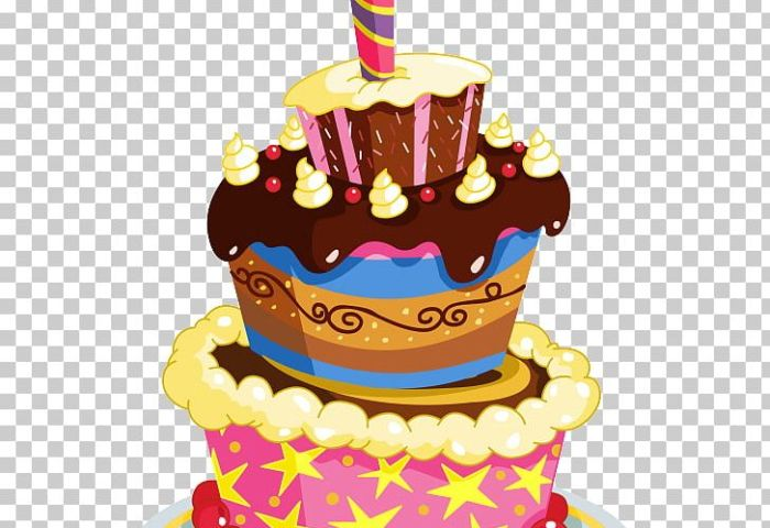 Birthday Cake Chocolate Cake Cupcake Png Clipart Baked Goods