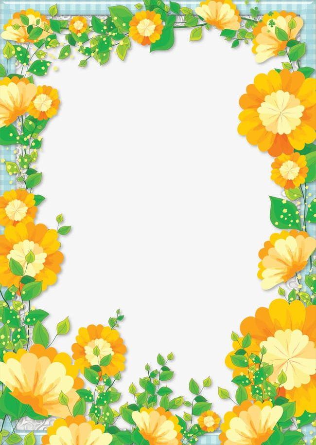 Floral Border Design Png Clipart Border Border Clipart Design Design Clipart Floral Free Png Download
