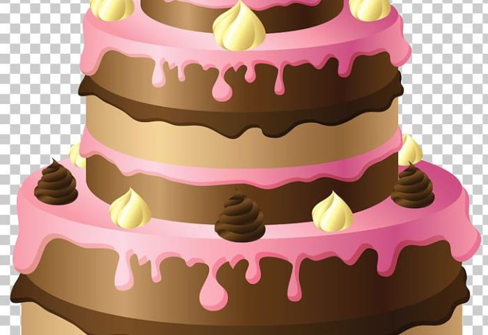 Birthday Cake Chocolate Cake Wedding Cake Png Clipart Baked Goods