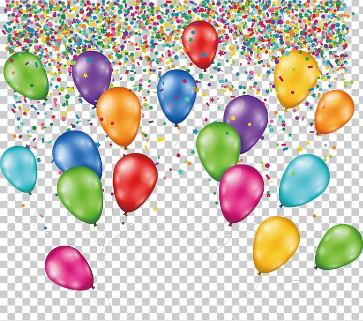 birthday cake balloon png clipart