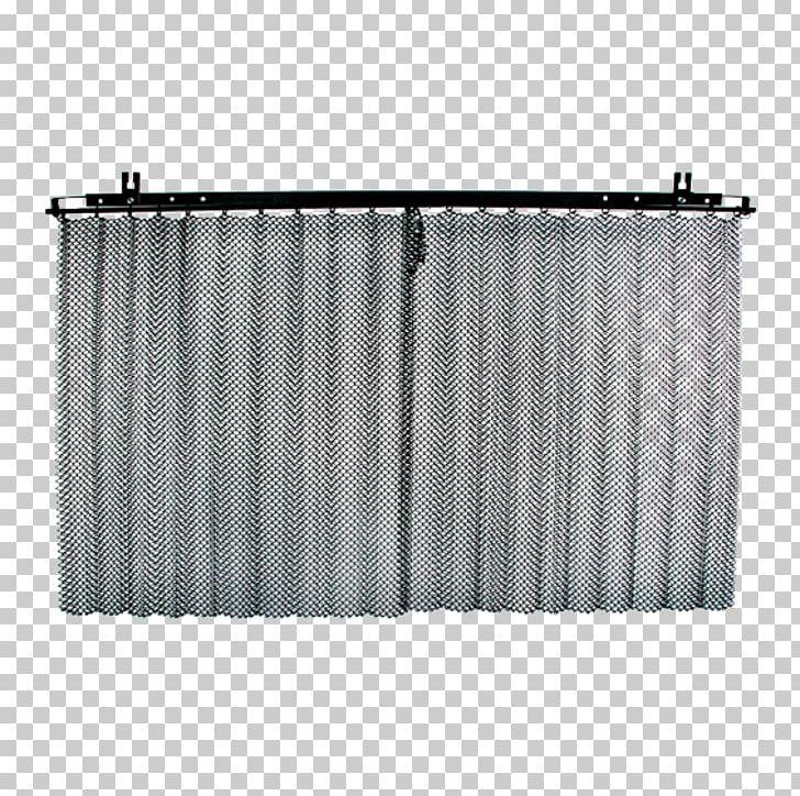 curtain drape rails fire screen