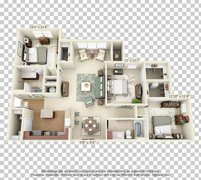 Floor Plan Apartment House Room Png