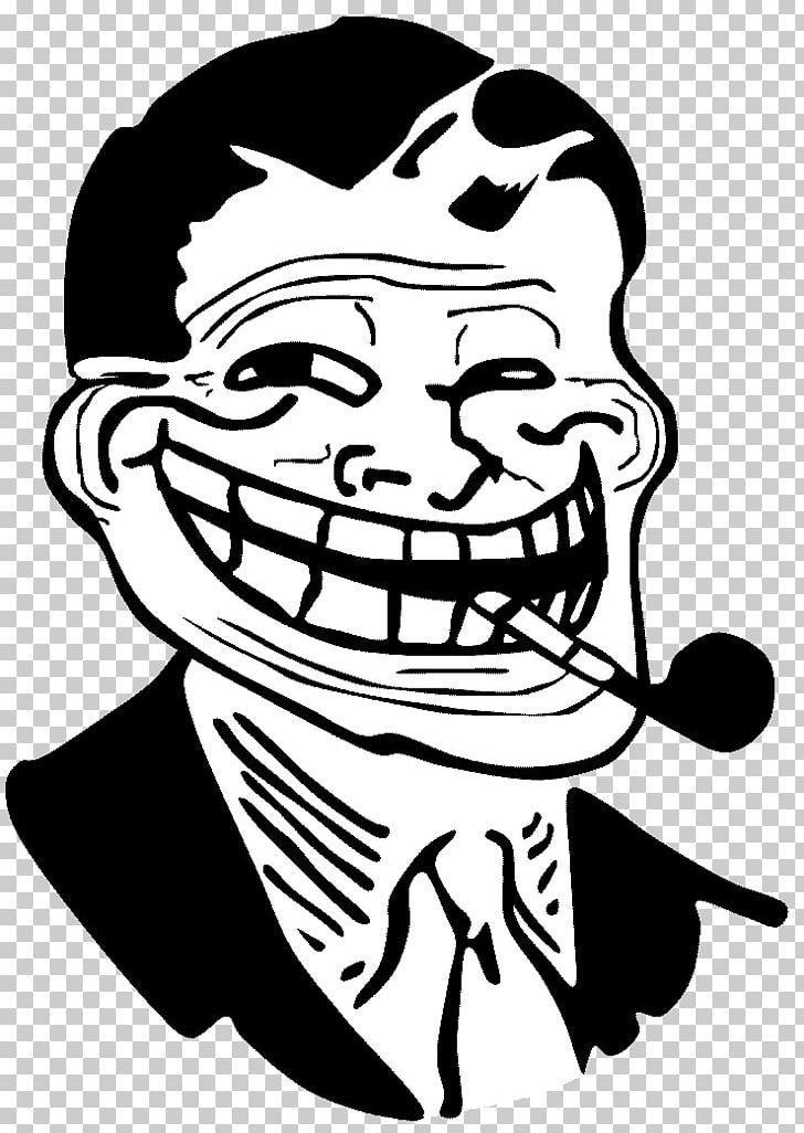 Trollface Internet Troll Rage Comic Decal Internet Meme Png