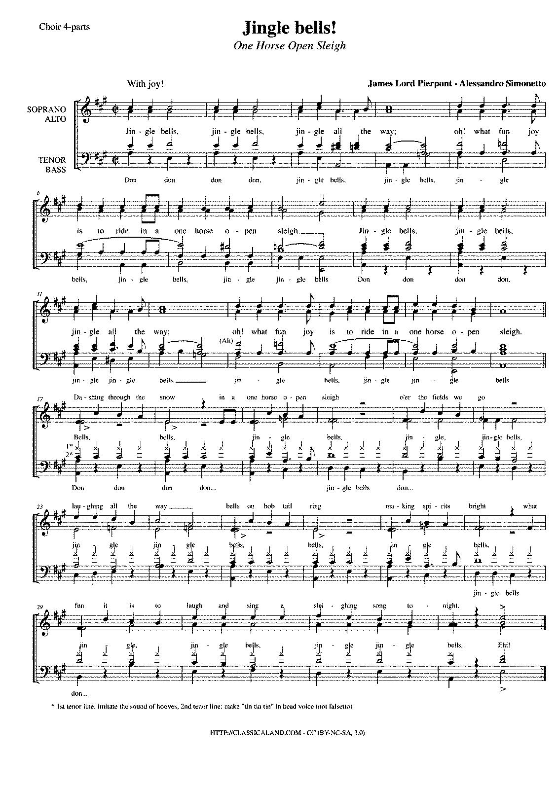 Jingle Bell Rock Sheet Music Piano