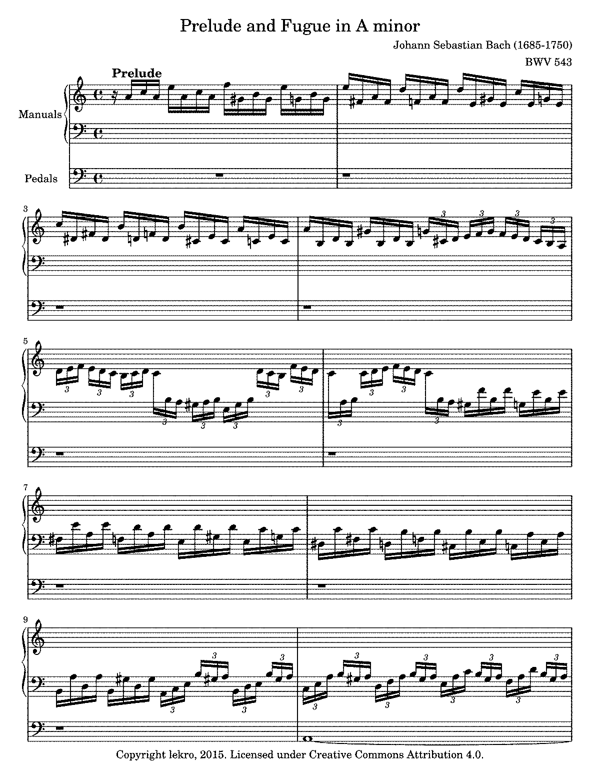 BWV 543