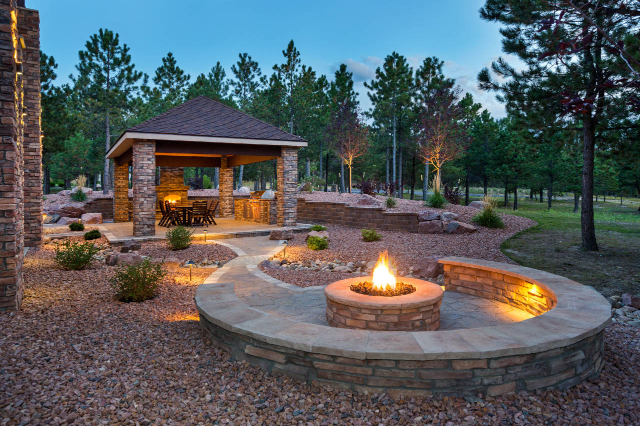 cost to install backyard fire pit