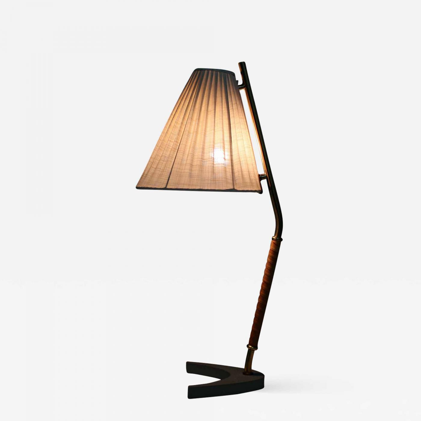 Bohlmarks Ab Scandinavian Midcentury Table Lamp By Bohlmarks 1940s Sweden