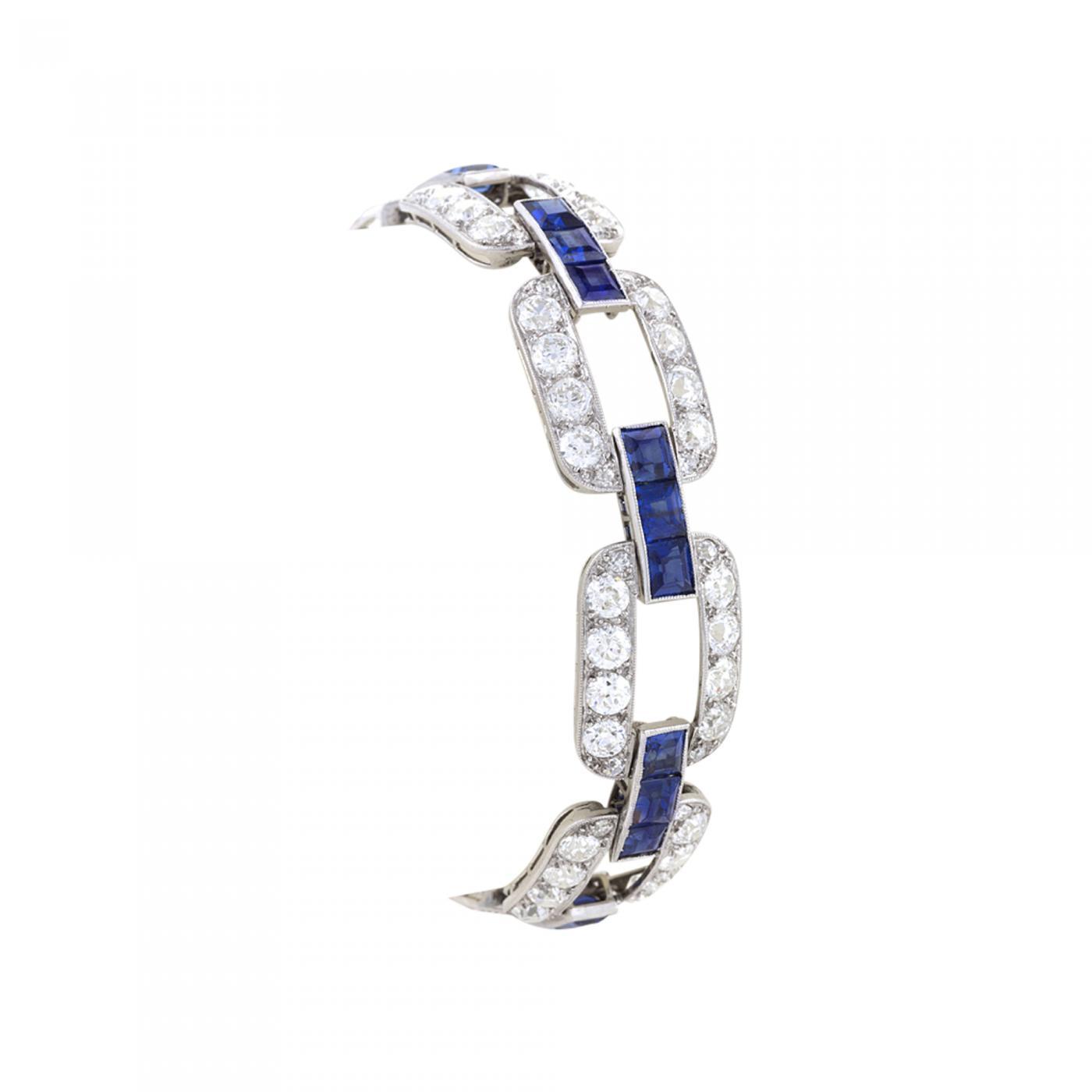 Sapphire Gold Bracelet   Wiring Diagram Database