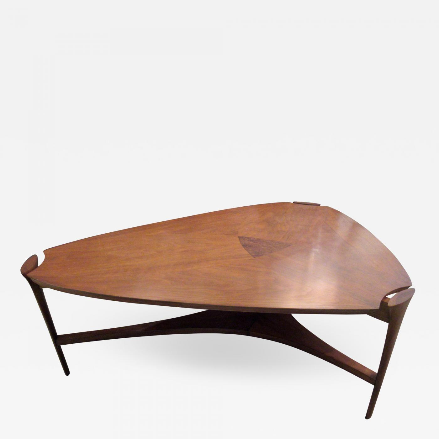 henry p glass american modern coffee table henry glass for sj campbell