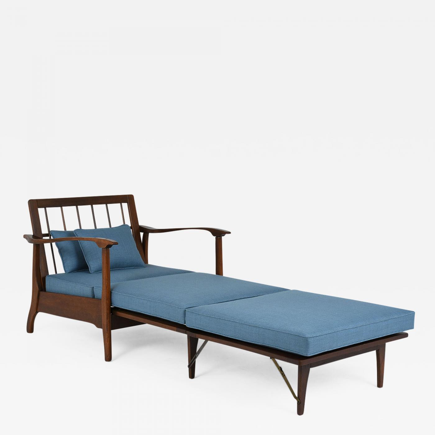 1960 S Mid Century Modern Reclining Lounge Chair