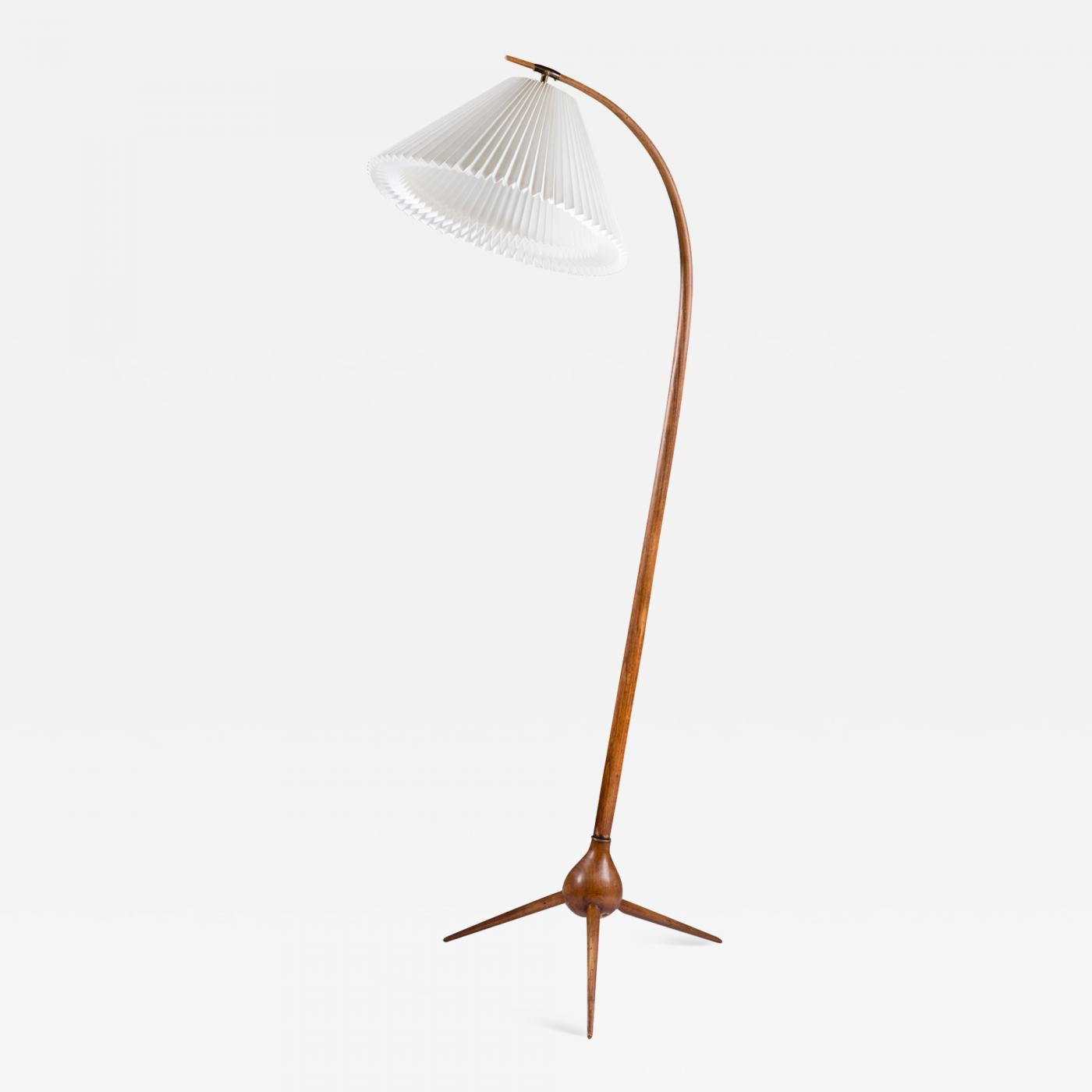 Severin Hansen Danish Mid Century Floor Lamp Bridge Lamp By Severin Hansen Jr