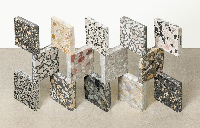 concrete terrazzo tiles covet