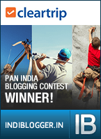 Cleartrip IndiBlogger Contest Winner