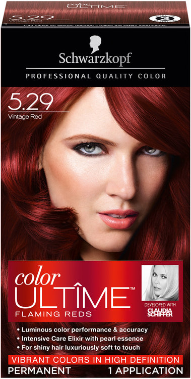Schwarzkopf Color Ultime Flaming Reds Vintage Red Hair