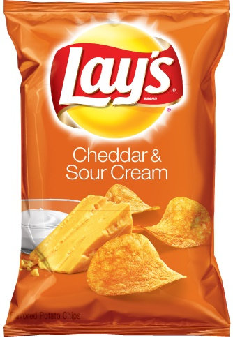 Image result for lays sour cream and cheddar