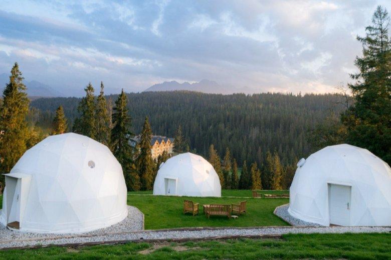 Глемпінг у сферичних куполах на Буковині Татшанській.