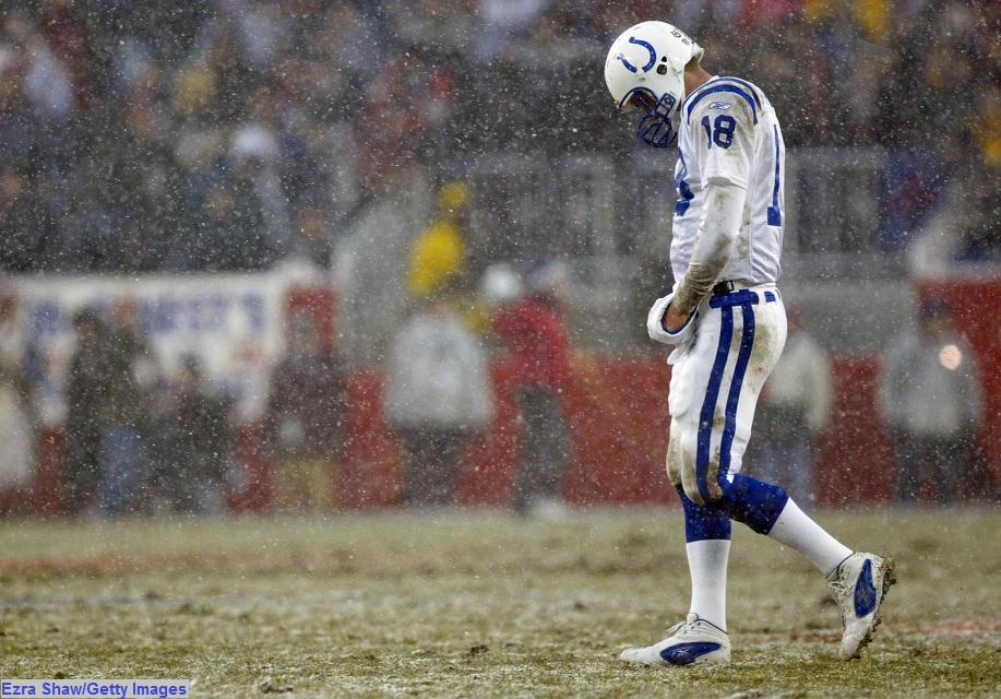 Image result for peyton manning colts loss to patriots
