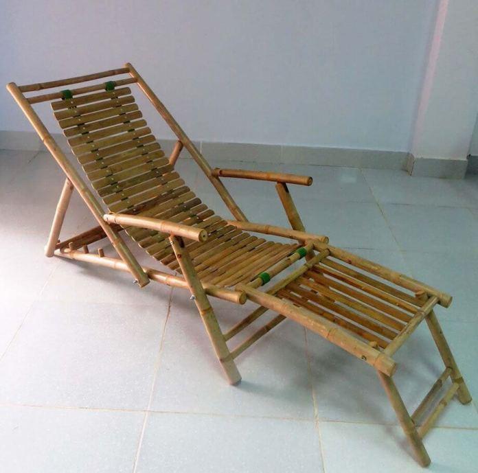 Bamboo recliner