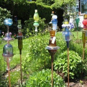 darla-murray-and-bridget-smith-recycled-glass-bottle-art