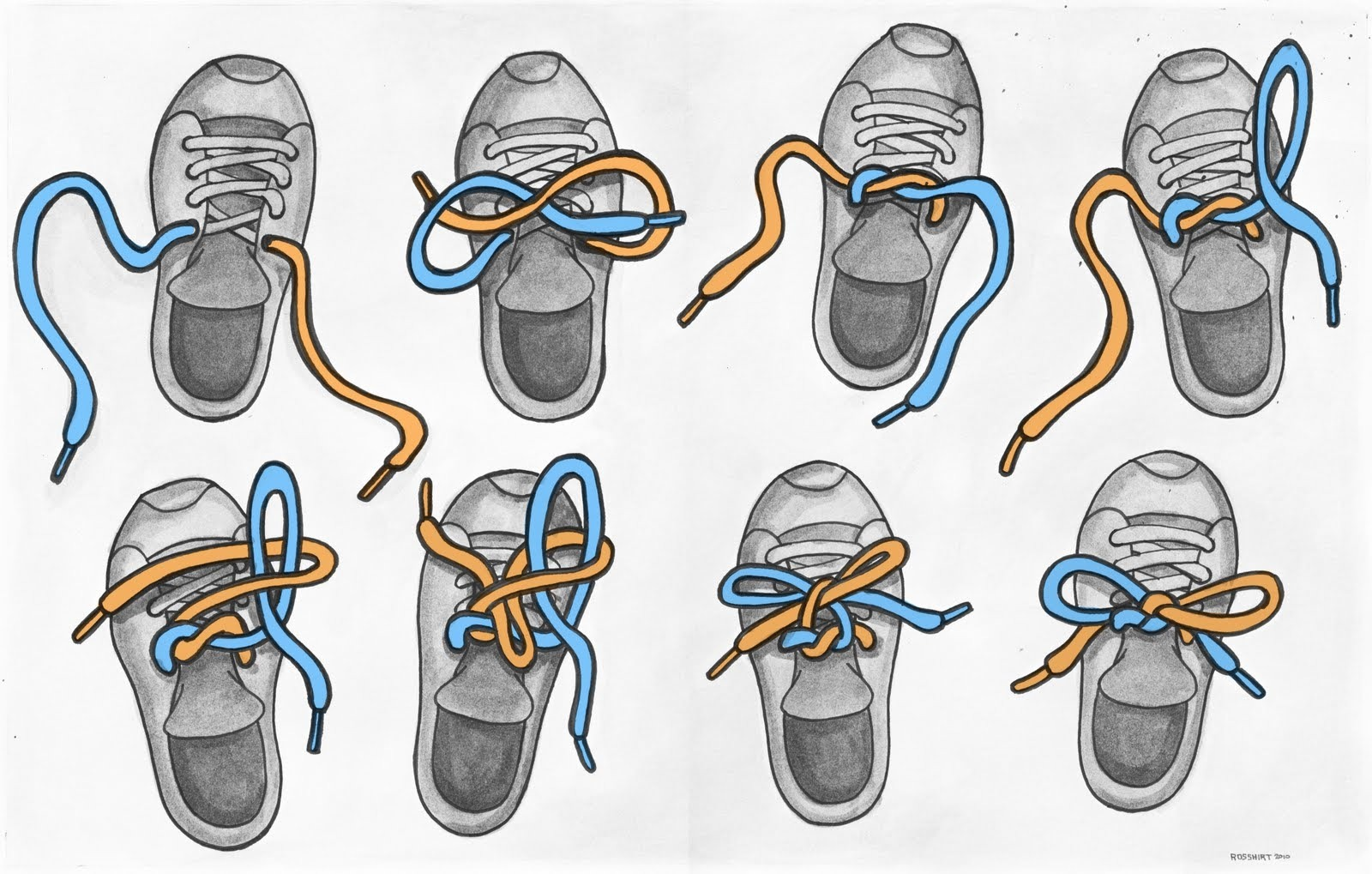 How To Tie Your Shoe 7 Steps