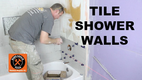 How To Tile A Shower Wall And Cut Tiles Like A Pro 16 Steps With Pictures Instructables