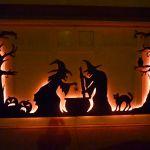 Halloween Garage Door Silhouette 6 Steps With Pictures