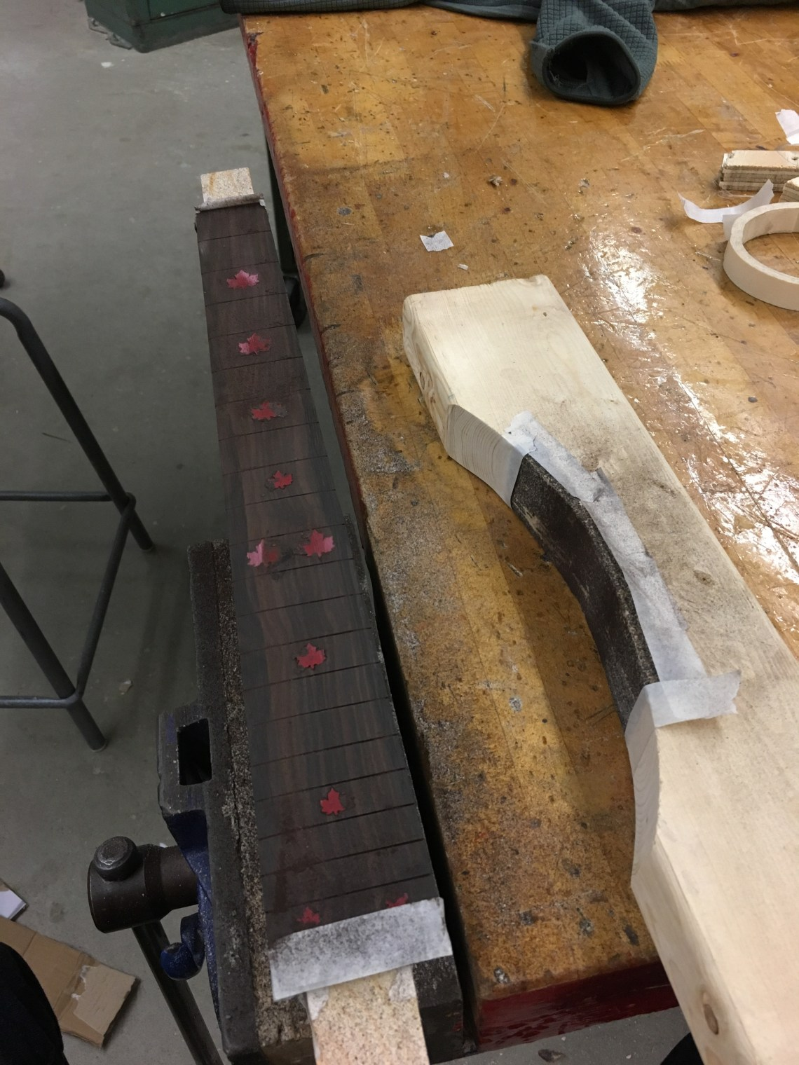 Contouring the Fretboard