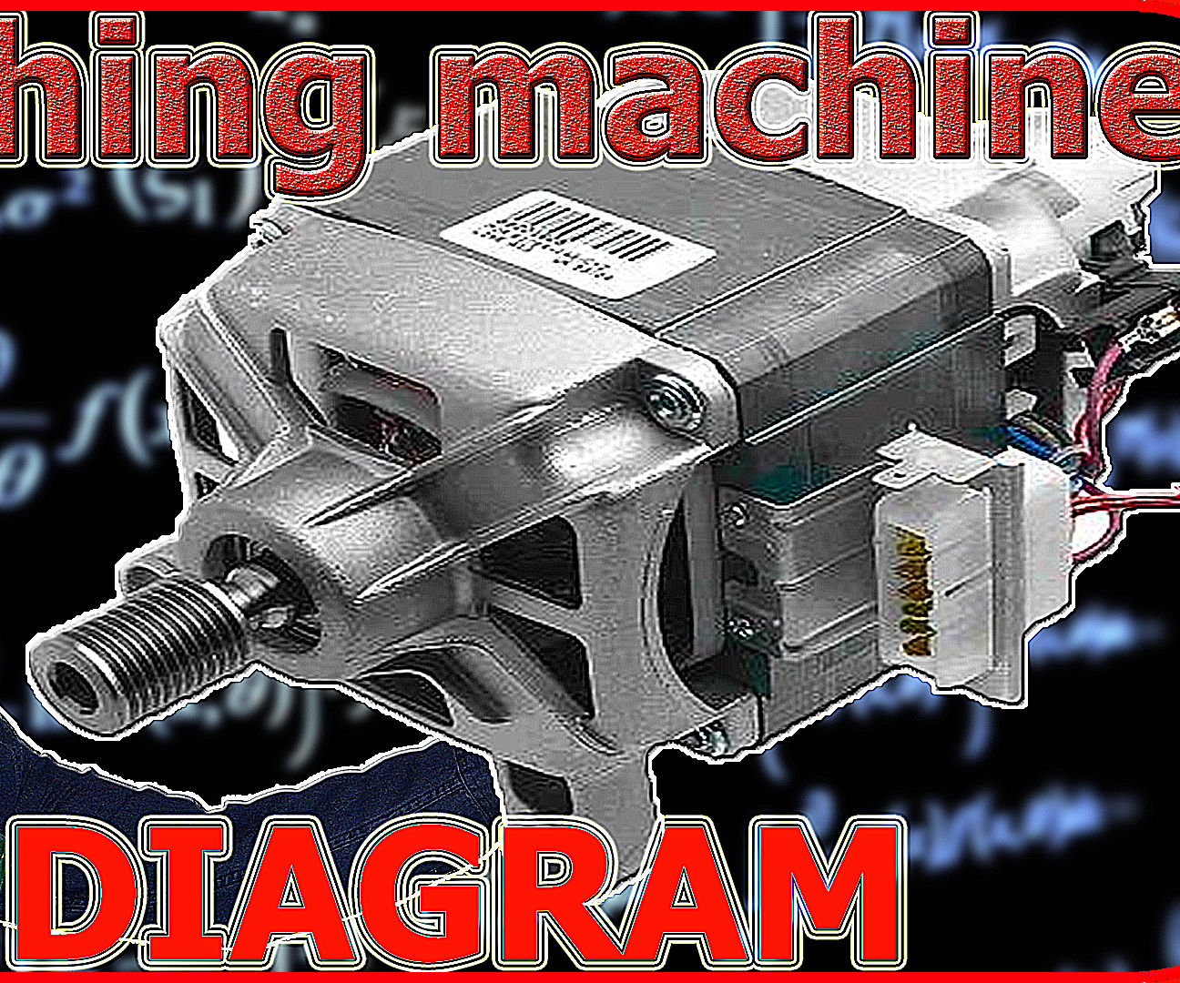 Washing Machine Motor Wiring Diagram: 6 Steps