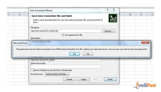 Integrações SAP HANA com o Excel