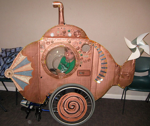 Fantasy Steampunk Submarine Costume