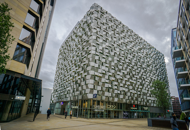 ipernity: The 'Cheese grater'... Sheffield city centre