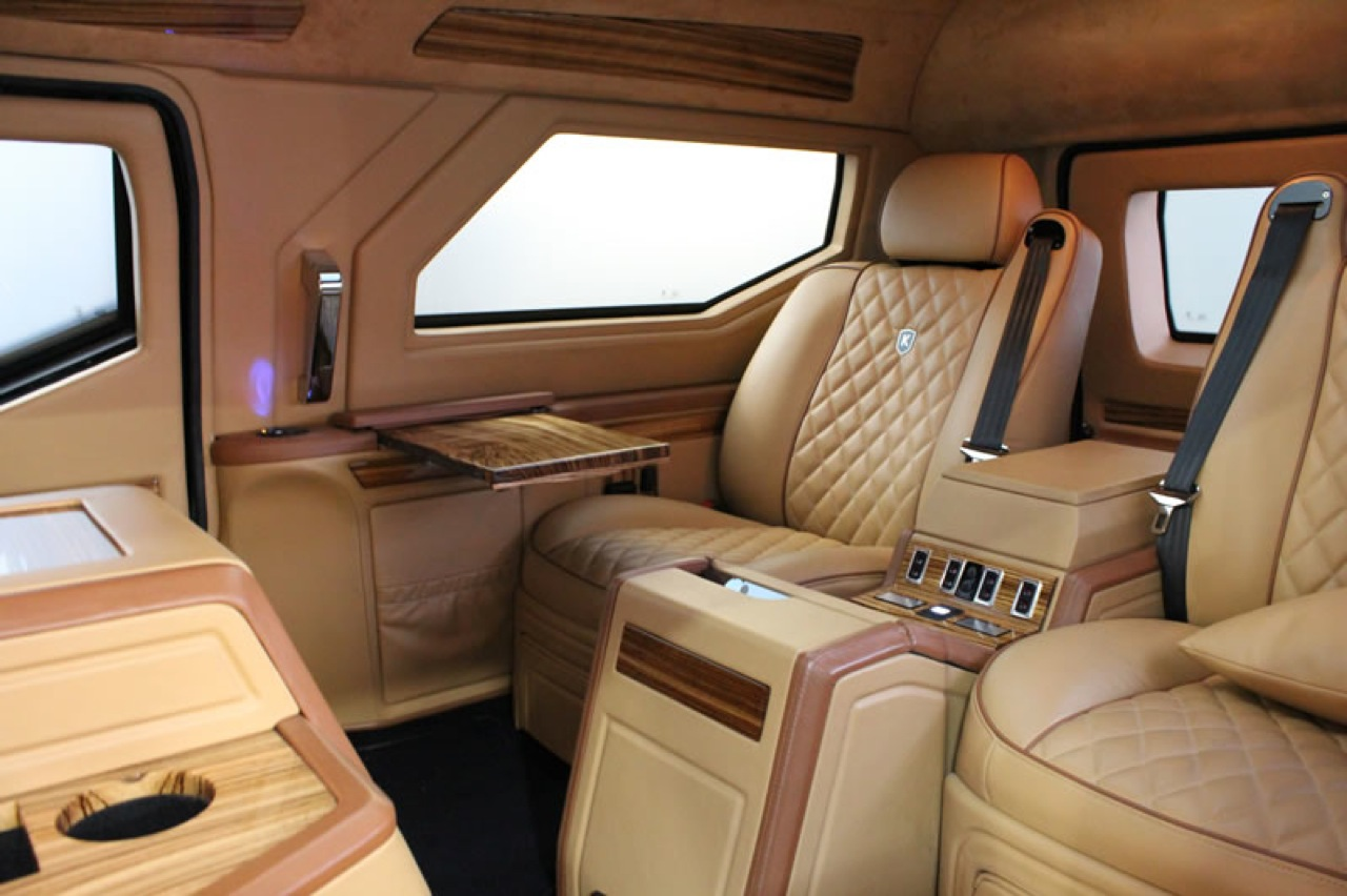 This Canadian Made 629000 Luxury SUV With IPad Controls