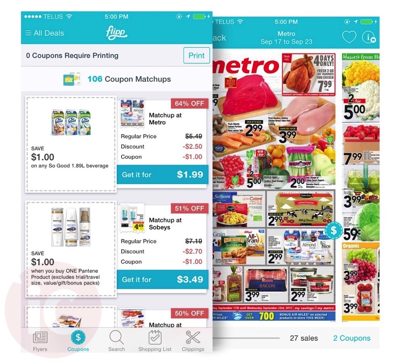 Grocery Store Shopping App